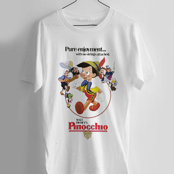 Pinocchio disney T-shirt Men, Women Youth and Toddler