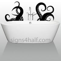 Octopus Tentacles Removable Wall Decor Decal Vinyl Sticker Mural Free S&H