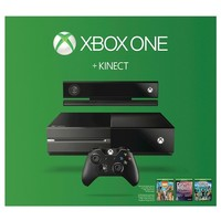 Xbox One Kinect Holiday Bundle with Zoo Tycoon, Dance Central Spotlight, and Kinect Sports Rivals