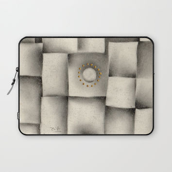 Quantum plate Laptop Sleeve by Zia