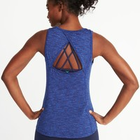 Go-Dry Keyhole-Back Tank for Women | Old Navy