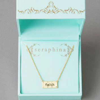 SERAPHINA FAITH NECKLACE