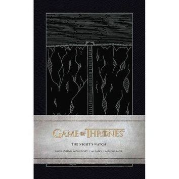 Game of Thrones: The Night's Watch Hardcover Ruled Jou, Drama TV by Simon &