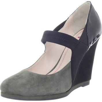 Plenty by Tracy Reese Suede Mary Jane Wedges - SALE!