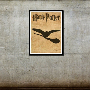 Sale - Harry Potter Hedwig Movie Poster