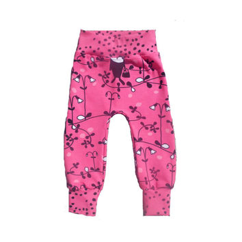 Baby girl pink sweatpants, baby girls comfy hipster pants, baby hipster pants, babies lounge pants, baby girl clothes, baby cotton clothes