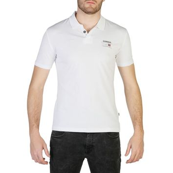 Napapijri Men White Polo