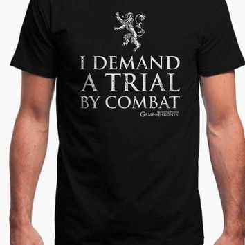 TRIAL BY COMBAT - GAME OF THRONES OFFICIAL T-SHIRT