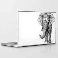 Ornate Elephant Laptop & iPad Skin by BioWorkZ