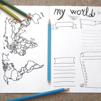 world map bujo journal monthly bujo visited places to visit sales printable plan traveler agenda tourist notebook download lasoffittadiste