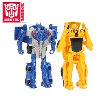 Transformers Toys Optimus Prime Bumblebee Barricade Ation Figure Collection Model Dolls The Last Knight Turbo Changer Figures