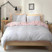Bedroom On Sale Hot Deal Cotton Bedding Knit Bedding Set [45978877977]