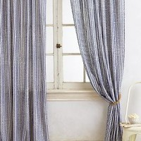 Fringed Toulon Curtain by Anthropologie