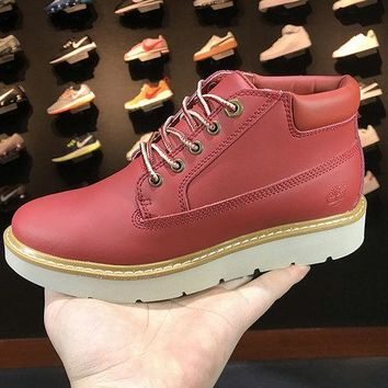 Timberland KENNISTON NELLIE SNEAKER BOOTS TB0A1GP2W china Red