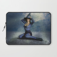Witch Laptop Sleeve by Ian Ritchie