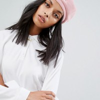 Kangol Beret in Pink at asos.com