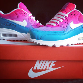 Summer Air Max Pink/Turquoise Ombré