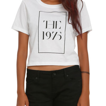 The 1975 Logo Crop Top