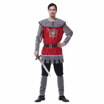 PEAPON Shanghai Story Adult Party Cosplay Costumes King of Rome Halloween Costumes for Men Medieval Warrior Carnival Costumes