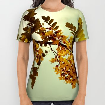 Nature Vintage All Over Print Shirt by VanessaGF