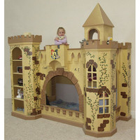 Baby Furniture & Bedding King Richard Norwich Castle Bunk Bed and Playhouse