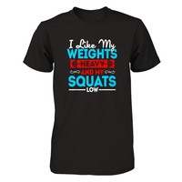 Weights And Squat - Shirts