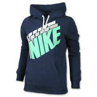Women's Nike Club Stacked Pullover Hoodie