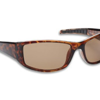 Fisherman Eyewear Sailfish Original Polarized Sunglasses (Tortoise Frame, Brown Lens)