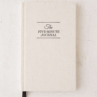 The Five-Minute Journal By Intelligent Change - Urban Outfitters