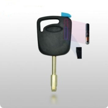Ford Transponder Key SHELL - H91 / 6-Cut Tibbe Style