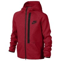 Nike YA76 Tech Fleece Full-Zip Hoodie - Boys' Grade School at Kids Foot Locker