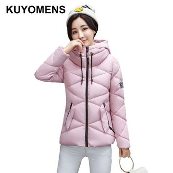 KUYOMENS Winter jacket women Hot 2017 new lady park long female jacket thick and coat high quality warm Women's winter coats