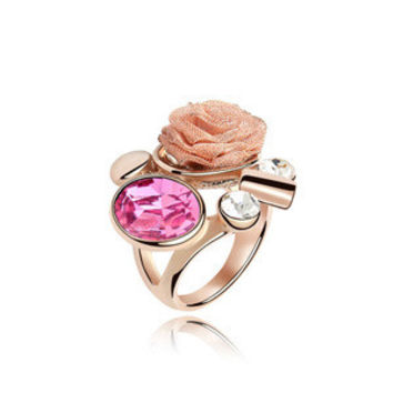 New Arrival Shiny Gift Stylish Jewelry Crystal Ring [4989648964]