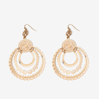 Lace Filigree Gypsy Drop Earring