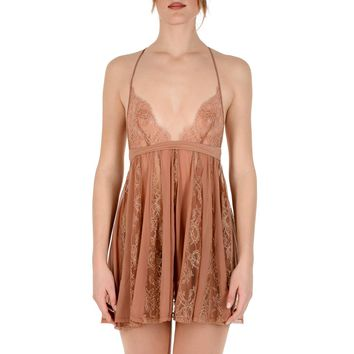 La Perla Limited Edition Womens Baby Doll Brown