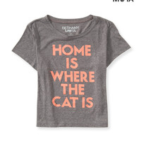 Aeropostale  Womens Home Boxy Graphic T-Shirt