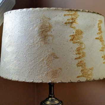 Fifties Fiberglass Lampshade Mid Century Lamp Shade