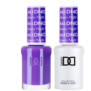 DND - Gel & Lacquer - Mauvy Night - #661