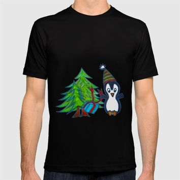 Christmas Gifts | Christmas Spirit | Kids Painting T-shirt by Azima