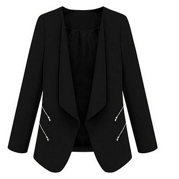 Vintage Blazers for Women Ladies Blazer Blazer Jacket Blue Blazer Jacket Coat