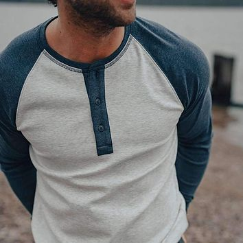 Retro Puremeso Henley by The Normal Brand
