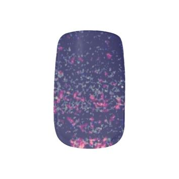 Glam Galaxy Nails Minx Nail Wraps