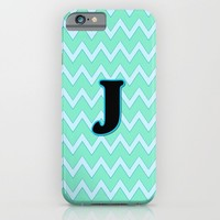 Letter J iPhone & iPod Case by Gretzky