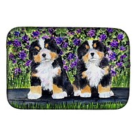 Bernese Mountain Dog Dish Drying Mat SS8334DDM