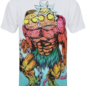 Rick And Morty Monster Men's Sublimation All Over Print T-Shirt