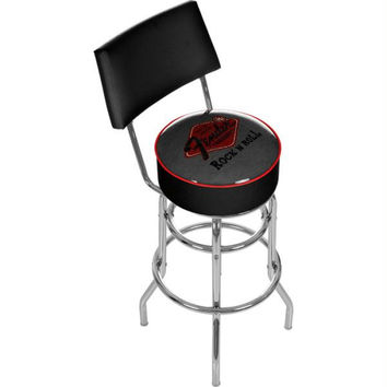 Fender Rock n Roll Padded Bar Stool with Back