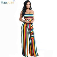 Wide Leg Two Piece Sexy Jumpsuit