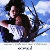 Edward Scissorhands 27x40 Movie Poster (1990)