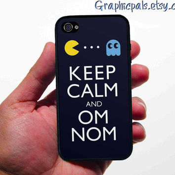 Keep Calm Pac-Man Design iphone 4 4s case