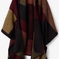 Color Block Blanket Cover-up from EXPRESS